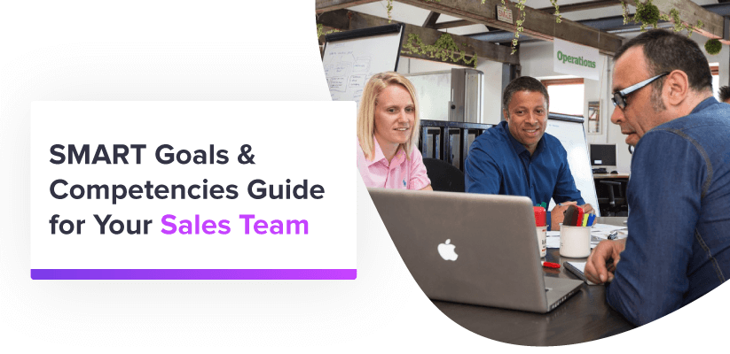 SMART goals & competencies guide - sales team